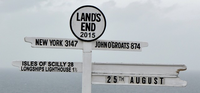 sign post at Land's End